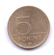 MAGYAR 2010: 5 Forint, KM 694 - Hungary