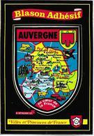AUVERGNE - Blason Adhésif - France