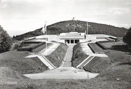 CARTE POSTALE PHOTO ORIGINALE 10CM/15CM DENTELEE : LE VIEIL ARMAND MONUMENT NATIONAL  HARTMANNSWEILERKOPF HAUT RHIN (68) - Autres Communes