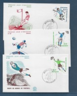 Thème Football - Coupe Du Monde Espagne 1982 - Monaco Enveloppe - 1982 – Espagne