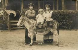 ROBINSON - Carte Photo Javelle, Enfant Sur Un âne. - Le Plessis Robinson