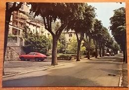 Lenna (Bergamo). Il Viale - Auto, Car, Voitures - Porsche. - Bergamo