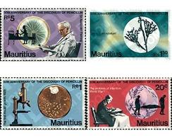 Ref. 73858 * MNH * - MAURITIUS. 1978. 50th ANNIVERSARY OF THE DISCOVERY OF PENICILLIN . 50 ANIVERSARIO DEL DESCUBRIMIENT - Maurice (1968-...)