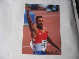 Athlétisme -   Autographe - Carte Signée De Daniel Sangouma - Athletics