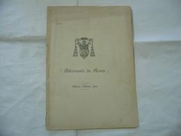 IL CARDINALE RITORNANDO DA ROMA  DIOCESI DI MILANO 1902 COSTINA UN PO ROVINATA. - Religion