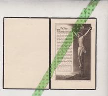 Marie De Bontridder, Malines 1943 Décédé, Overleden - Obituary Notices