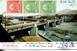 N°9484 -cpa Lima -Puente De Piedra- - Peru