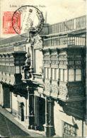 N°9487 -cpa Lima -casa De Torre Tagle - Peru