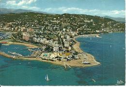 Cannes (Alpes Maritimes, France) Vue Aerienne: Palm Beach, Croisette, Boulevard E. Gazagnaire, Port Du Mouret Rouge - Cannes