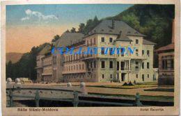 Baile SLANIC MOLDOVA 1935, Hotel RACOVITA, Cu 3 Timbre - Rumania