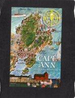 94485    Stati  Uniti,   Map  Of  Cape Ann,  Mass.,  NV - Estados Unidos