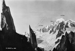 Cartolina Monte Bianco Ed SACAT - Italia