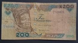 FD0513 - Nigeria 200 Naira Banknote 2014 #AH/529826 - Nigeria