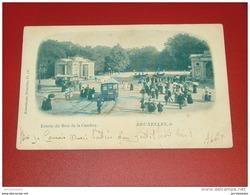 BRUXELLES - Entrée Du Bois De La Cambre  -  1899 - Bossen, Parken, Tuinen