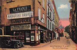 82. N°206130.Montauban. Rue De La Republique - Montauban