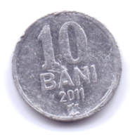 MOLDOVA 2011: 10 Bani, KM 7 - Moldavië