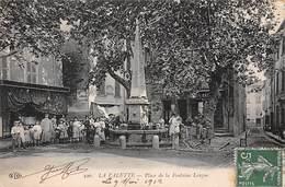 83. N°206136. La Valette. Place De La Fontaine Longue - La Valette Du Var
