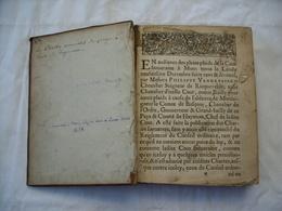 Les Chartes Nouvelles Du Pays & Comté De Hainaut. Indication Manuscrite: Imprimé à Mons Chez Vve Lucas Rivins. 1619. - Boeken, Tijdschriften, Stripverhalen