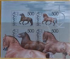 122. BELARUS 2004 STAMP M/S HORSES . MNH - Bielorrusia
