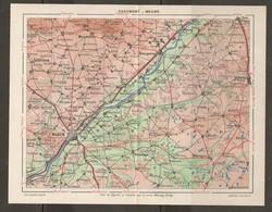 CARTE PLAN 1948 - RÉGION CHAUMONT MEUNG -LOIR Et CHER LOIRET - BLOIS MARCHENOIR LA FERTÉ BEAUGENCY - Topographical Maps