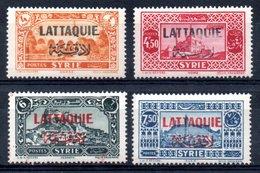 Lattaquié Y&T 11* - 14* - Lattaquié (1931-1933)