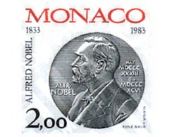 Ref. 32459 * MNH * - MONACO. 1983. 150th ANNIVERSARY OF ALFRED NOBEL . 150 ANIVERSARIO DE ALFRED NOBEL - Ohne Zuordnung