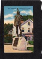 94487    Stati  Uniti,   Statue Of  Massasoit, Protector Of The  Pilgrims,  Plymouth,  Mass.,  NV - Estados Unidos