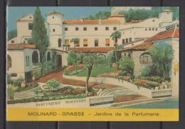 Carte Parfumée -  Molinard  - Jardins De La Parfumerie - Grasse - Perfume Cards