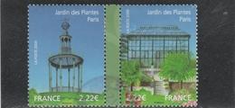 FRANCE 2009 ISSU DU BLOC JARDINS DE FRANCE OBLITERE YT 4384 - 4385 - - Frankreich