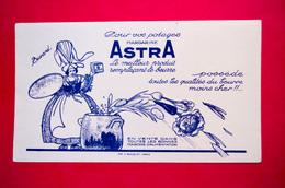 Buvard Margarine ASTRA - Soups & Sauces