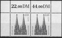 2001 Allem. Fed. Deutschland  Mi. 2206 **MNH Sehenswürdigkeiten Kölner Dom - [7] République Fédérale