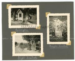 Chapelles De Eyseringhem, Borght-Lombeck,  3 Photographies Originales D'époque. FG1397 - Lieux