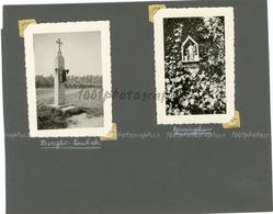 Chapelles De Eyseringhem, Borght-Lombeck , 2photographies Originales D'époque. FG1398 - Lieux