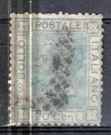 I+ Italien 1867 Mi 26 Viktor Emanuel II. GH - Usati