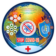 GUINEA BISSAU 2020 - WHO, Stop COVID-19, S/S Official Issue [GB200313b] - WHO