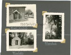 Chapelles De Wambeke, Borght-Lombeck Et Klapscheut, 3photographies Originales D'époque. FG1399 - Lieux