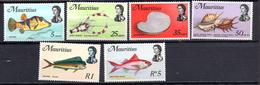 1969 - MAURITIUS -  Mi. Nr. 331-344 - NH - (AS2302.58) - Maurice (1968-...)