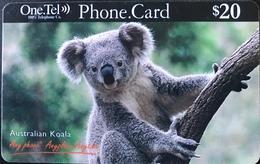 AUSTRALIE  -  Prepaid   -  One.Tel  -  Koala  -  $ 20 - Australië