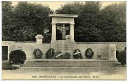 91 - MONTGERON - Le Monument Aux Morts - Montgeron
