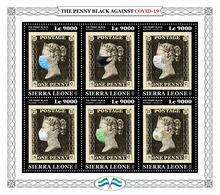 SIERRA LEONE 2020 - Penny Black COVID-19. Joint Issue [SRL200321] - Emissions Communes