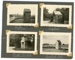 Chapelles De Strythem, Borght-Lombeck Et Lombeck N.D, 4 Photographies Originales D'époque. FG1400 - Lieux