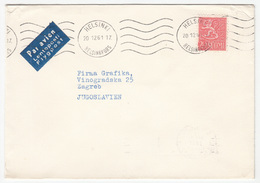 Finland, Letter Cover Posted 1961 Helsinki Pmk B200601 - Finnland