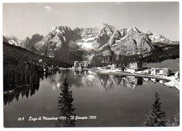 Lago Di Misurina - Sullo Sfondo Il Sorapis - Italia
