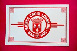 Buvard Bière CROIX LORRAINE, Bar-Le-Duc - Liquor & Beer