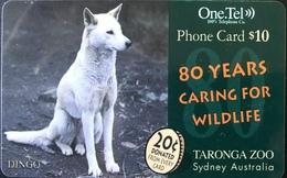 AUSTRALIE  -  Prepaid   -  One.Tel  -  Dingo  -  $ 10 - Australië