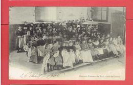 TOUL 1906 OEUVRE DU TROUSSEAU SALLE DE COUTURE CARTE EN BON ETAT - Toul