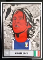 Andrea Pirlo Carte Postale - Calcio