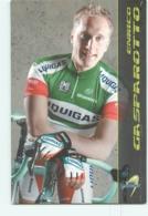 Enrico GASPAROTTO . 2 Scans. Cyclisme. Liquigas - Cyclisme