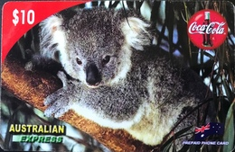 AUSTRALIE  -  Prepaid   -  Card Call  -  Koala  -  $ 10 - Australië
