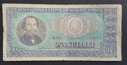 FD0513 - Romania 100 Lei Banknote - Romania